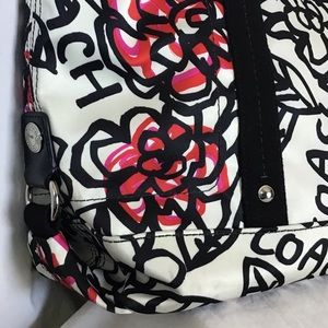 Coach Bags - Coach Poppy Kiera Flower Graffiti print  tote bag